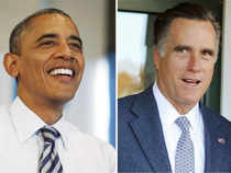 It's a tie between President Barack Obama and his Republican rival Mitt Romney -- in the first results in the presidential election from a remote hamlet in New Hampshire