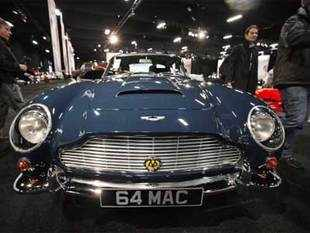 There is an Indian hand in Bond's favourite car Aston Martin DB5 that appears in the movie 'Skyfall', which is turning out to be a big hit.