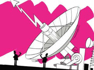 The telecom department said it had received bids worth a little over Rs 9,200 cr on the opening day, less than a fourth of the govt's target of Rs 40K cr from the airwaves sale, a top telecom department official said.