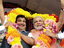 BJP president Nitin Gadkari and Rashtriya Swayamsevak Sangh have dismissed a former RSS functionary MG Vaidya's suggestions that Gujarat chief minister Narendra Modi was 'sponsoring a campaign' against Gadkari, who is battling allegations of corruption.