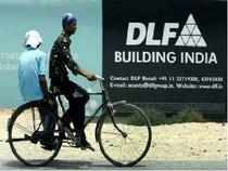 Realty major DLF today said it will issue fresh equity shares in the next fiscal to dilute promoters' stake to 75 per cent as per market regulator SEBI's guidelines and will use the funds to cut debt.