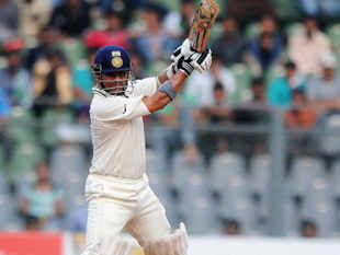 Sehwag, playing in his 99th Test, blasted his way to run a ball 117, his 23rd ton, containing 16 fours and a six in his usual swashbuckling fashion.