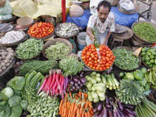 Wholesale Price Index inflation stood at 7.45% for the month of October 2012 against 7.81% (provisional) for September 2012 and 9.87% for October 2011.