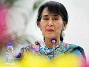 "Suu Kyi reminisced her formative years in the prestigious institution and said she never felt ""far away"" from India."