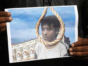 The government was more comfortable with Yerawada as the site for Kasab's hanging, sources said.