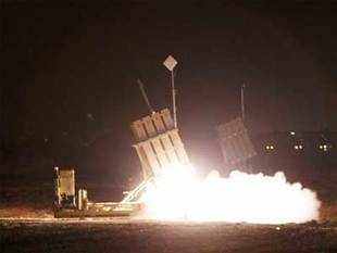 Several months ago, scientists in DRDO suggested that to look at a joint programme with Israeli firms to develop an Indian version of Iron Dome. (Reuters photo)