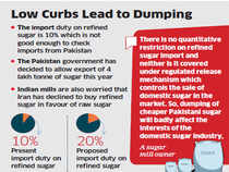 Sugar from Pakistan, which is at least Rs 5 a kg cheaper than the Indian variety, is finding favour with traders in the country, especially across the border in Punjab.