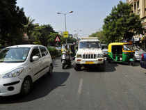 Bangalore has emerged as next only to Delhi in terms of annual vehicle registration while Hyderabad recorded a big increase in this category in the past two years.