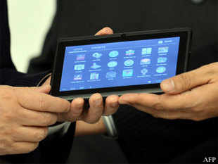 The Aakash 2 tablet, hailed as an example of Indian innovation, was unveiled at the UN headquarters by Secretary General Ban Ki-moon yesterday on the occasion of India's Presidency of the Security Council.