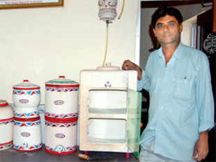 Prajapati has not only helped design cheap, utilitarian products, but has also brought clay back in fashion.