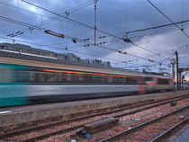 In Pic: Speed Train.