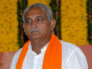 The only Assembly constituency where neither the Congress nor the NCP has fielded any candidate is Visavadar in Junagadh district, paving way for direct contest between Gujarat Parivartan Party (GPP) president and former Chief Minister Keshubhai Patel and sitting BJP MLA and party candidate Kanubhai Bhalala (above).