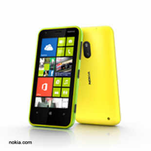 Nokia Lumia 620 comes with a five megapixel main camera and VGA front-facing camera.