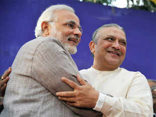 Amin, who has sizeable support in the politically powerful Patel community, was welcomed into the party by Gujarat Chief Minister Narendra Modi, who described the move as a step towards strengthening democracy.