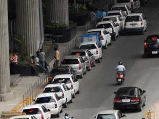 Automakers sold 158,257 cars in November, down 8.3 per cent from a year earlier, according to data released by the Society of Indian Automobile Manufacturers (SIAM) on Monday.