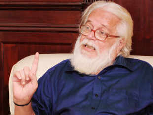 Former ISRO Chairman G Madhavan Nair today alleged that the ISRO spy case in 1994 was an attempt to destroy the organisation and scientist Nambi Narayanan was the scapegoat in the episode