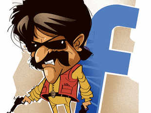 A Facebook game called 'Find Rajini' operates on the premise that the evil Joker Ravanan has kidnapped the superstar, and only Rajinikanth's legion of fans can save him