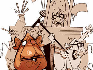 CPM and Trinamool Congress MLAs traded blows twice in the well of the West Bengal assembly on Tuesday, in a shocking display of the level of political animosity