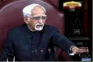 Diatribes are not unusual in Parliament, but rarely does one see them directed at the presiding officer. BSP supremo Mayawati, however, refused to spare Rajya Sabha Chairman Hamid Ansari on Wednesday.