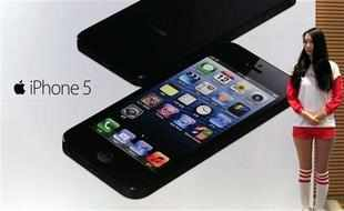 Apple's iPhone 5 makes low key debut in China