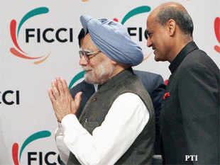 """Singh said the recent steps by the government were only the """"beginning of a process"""" to revive the economy and take it back to its growth rate of 8-9 per cent."""