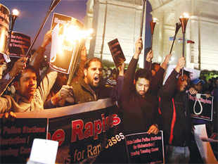 Three days after a woman was gang-raped and thrown out of a bus in New Delhi, it's not just the country's citizens that are grappling with alternating waves of shame, fear and anger.
