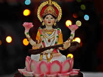You have to ask yourself. What do you really want to give your children? Lakshmi (wealth), Durga (strength) or Saraswati (wisdom).