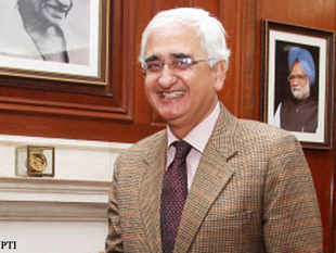 External Affairs Minister, Salman Khurshid responded by saying that the issues needed to be resolved between the countries concerned.