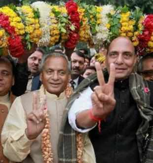 No race for PM's post, but Narendra Modi a popular leader: Rajnath Singh, BJP