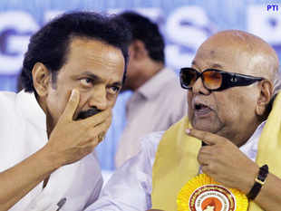 This is the first time in many years that Karunanidhi has categorically declared Stalin as his successor.