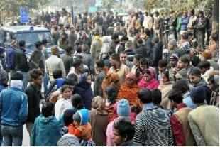 Noida rape: Four policemen suspended, victim cremated