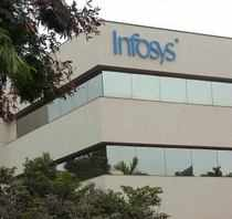 Infosys sees FY13 dollar revenues at $7.45 bn vs $7.34 bn earlier. FY13 revenue guidance includes $104 mn contribution from Lodestone.