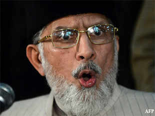 Qadri, who heads the Tehrik Minhaj-ul-Quran, said the incident had occurred some years ago when the Sharif brothers were living in self-exile in Saudi Arabia.