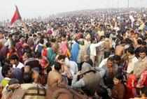 The controversy is rooted in a split in the Akhil Bharatiya Akhara Parishad that had taken place during the Haridwar Kumbh of 2010.