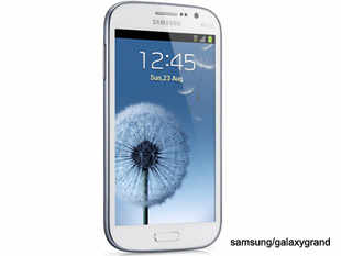 Running on a 1.2 GHz dual core processor, the Galaxy brand smartphone has a 5.0 inch screen.