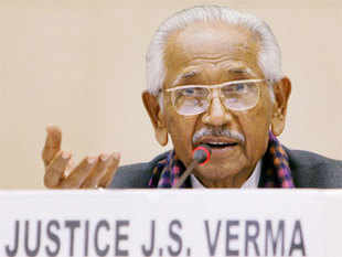 Justice Verma said the failure of governance was the root cause of crime against women.