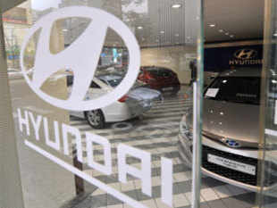 Korean auto major Hyundai Motor projected lower total car sales from its Indian unit this year despite posting a marginal increase in 2012.