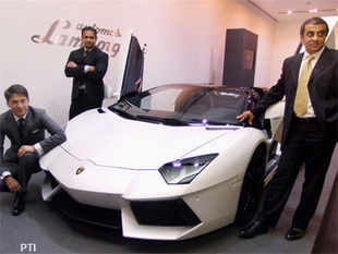 'The Indian market for Lamborghini is growing. We grew 21% and hope to grow faster in 2013. We expect the market, which is 100 units-strong currently, to grow five-fold to 500 units.'