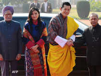 Bhutan's King Jigme Khesar Namgyel Wangchuck was the Chief Guest at R-Day Celebrations becoming the third emperor from the tiny kingdom to grace the event.