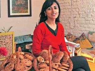 Mitali Kalra, an investment banker-turned-restaurateur, offers healthy fast-food options at Crostini.