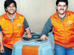 Tooling around with technology is a common pastime on campus but to turn a classroom project into serious business is uncommon. That is exactly what Samay Kohli, 26, and Akash Gupta, 23, have done. While still at the Birla Institute of Technology in Pilani, the two designed and built a robot that waited at tables in the college cafeteria.