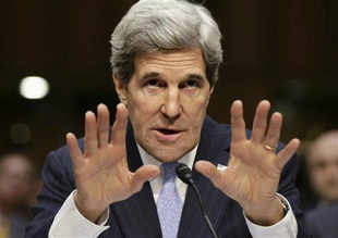 New US Secretary of State John Kerry has had a 7 min long conversation with Salman Khurshid on bilateral ties.