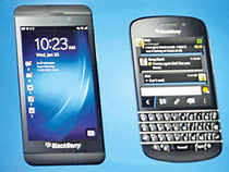 In the past, BlackBerry phones were for communication. In the future, they would be for computing, commanding, controlling…