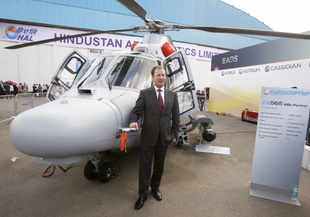 Eurocopter India captures 70 pc share in civilian choppers