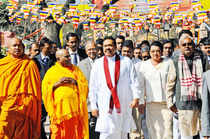 Sri Lankan President Mahinda Rajapaksa arrives in India; protests galore in TN