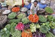 Analysts do not see prices of food items coming down anytime soon and have blamed supply side constraints for a consistently high number.