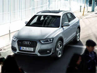 The new Audi Q3 2.0 TFSI quattro, powered by a 2 litre petrol engine will be in addition to the existing diesel option, Audi Q3 2.0 TDIq. (Image: www.audi.in)
