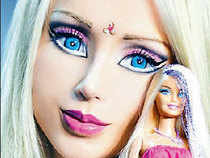 Valeria Lukyanova, also known as the human Barbie doll, says her exterior look is a reflection of her spiritual interior qualities.