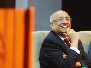 Som Mittal (President NASSCOM) during a seminar.