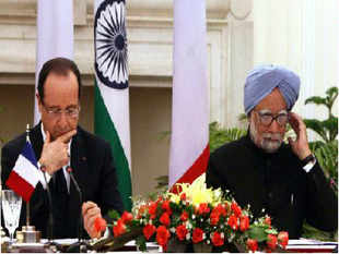 "French Presdient Hollande, on a state visit to India believes India can convince its ""close friend"" Tehran, to respect international obligations with regard to nuclear non-proliferation."